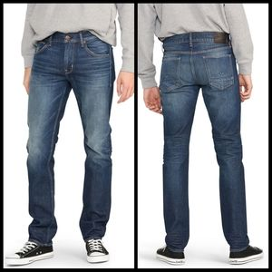 HUDSON Byron 5 pocket straight distressed jean